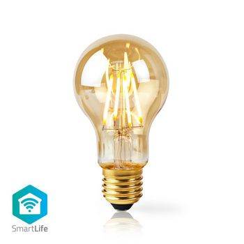 Wi-Fi Smart LED Filament Bulb | E27 | A60 | 5W | 500 lm