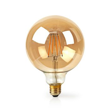 SmartLife LED Filament Bulb | Wi-Fi | E27 | 500 lm | 5 W | Warm White | 2200 K | Glass | Android™ & iOS | Diameter: 125 mm | G125