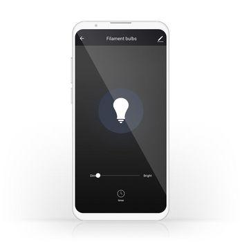 Wi-Fi Smart LED Filament Bulb | E27 | 125 mm | 5W | 500 lm