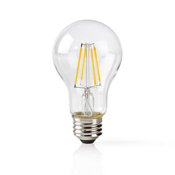 Wi-Fi Smart LED Filament Bulb | E27 | A60 | 5 W | 500 lm | Clear
