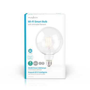 Wi-Fi Smart LED Filament Bulb | E27 | 125 mm | 5 W | 500 lm