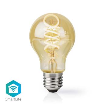Wi-Fi Warm to Cool White LED Filament Bulb | Twisted | E27 | A60 | 5.5 W | 350 lm