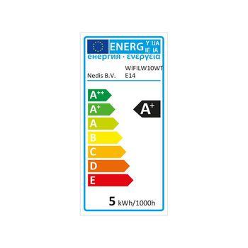 WiFi Chytrá LED Žárovka | Teplá až Studená Bílá | E14