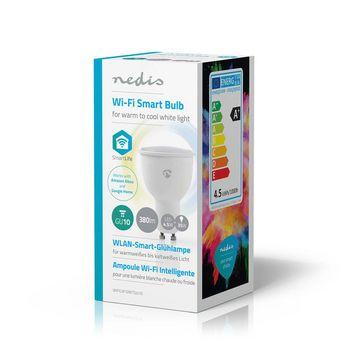 WiFi Smart LED Bulb | Warm to Cool White | GU10
