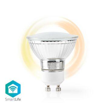 Wi-Fi Smart LED Bulb | Warm White | GU10 | Dim to Extra Warm White (1800 K)