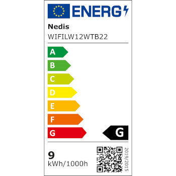 SmartLife LED Bulb | Wi-Fi | B22 | 800 lm | 9 W | / Warm White | 2700 K | Energy class: A+ | Android™ & iOS | A60