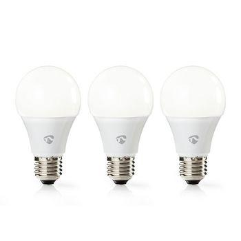 Wi-Fi Smart LED Bulb   Warm White   E27   3-Pack