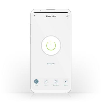 SmartLife Smart Plug | Wi-Fi | Power meter | 2500 W | Schuko / Typ F (CEE 7/7) | -10 - 40 °C | Android™ & iOS | White