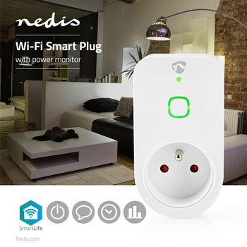 Wi-Fi Smart Plug | French Type E | 16A