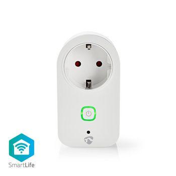 WiFi Okoscsatlakozó | Teljesítményfigyelő | Schuko Type F | 16 A