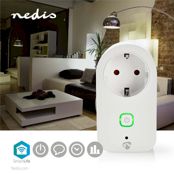 WiFi Smart Plug | Power Monitor | Schuko Type F | 16A