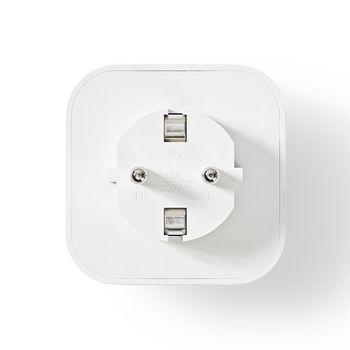Wi-Fi-s Okoscsatlakozó | F-típusú Schuko | 10 A | 3 db