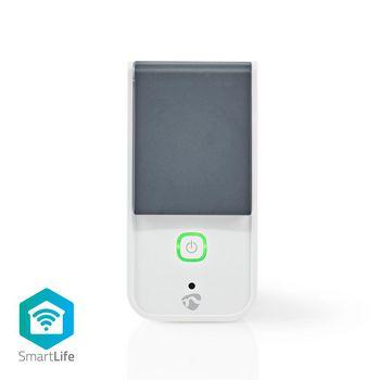 Wi-Fi Smart Plug voor Buiten | Spatwaterdicht | IP44 | Stroommeter | Frans Stopcontact Type E | 16 A