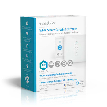 WiFi Smart Wall Switch | Curtain, shutter or sunshade controller