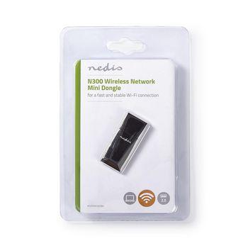 Wireless Network Dongle | N300 | 2.4 GHz | Black