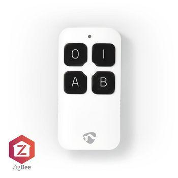 Smart Afstandsbediening | ZigBee | 4 Knoppen | Inclusief Accu | Wit