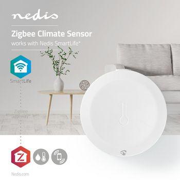 Slimme Klimaatsensor | Zigbee | Batterij Meegeleverd