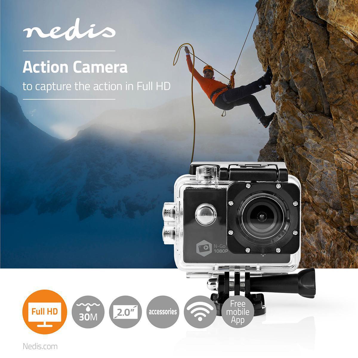 Amazon.com : HD 1080P MJPEG 2 inch LCD IP68 30m Waterproof Sports ... | 1200x1200