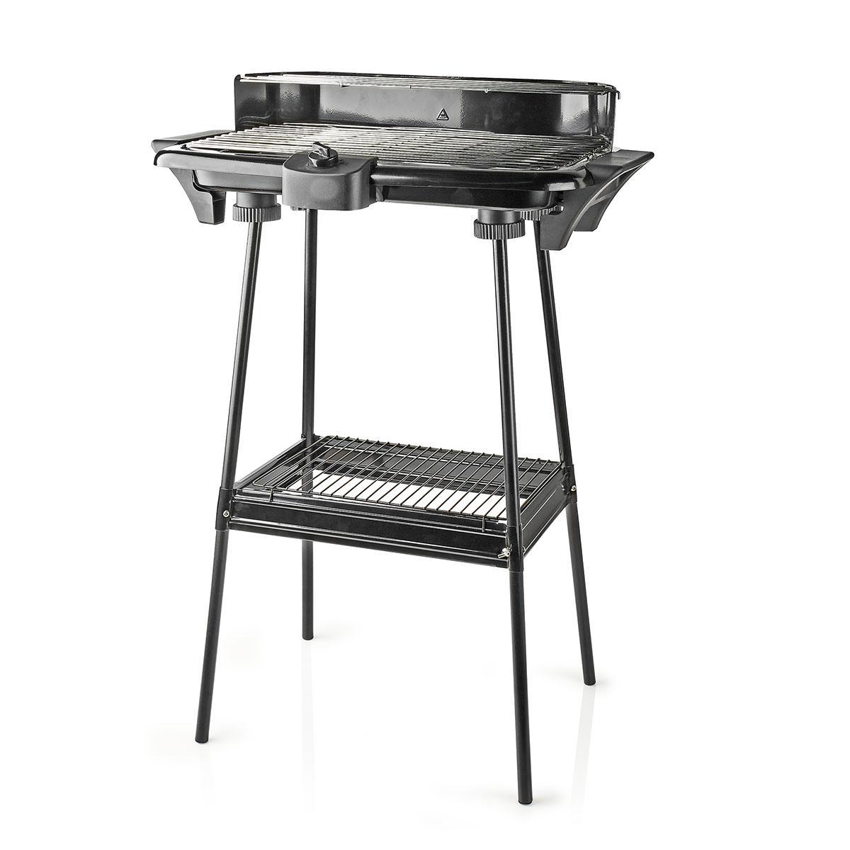 Electric Barbeque | Rectangle | 46 x 28 cm | 2000 W | Nedis