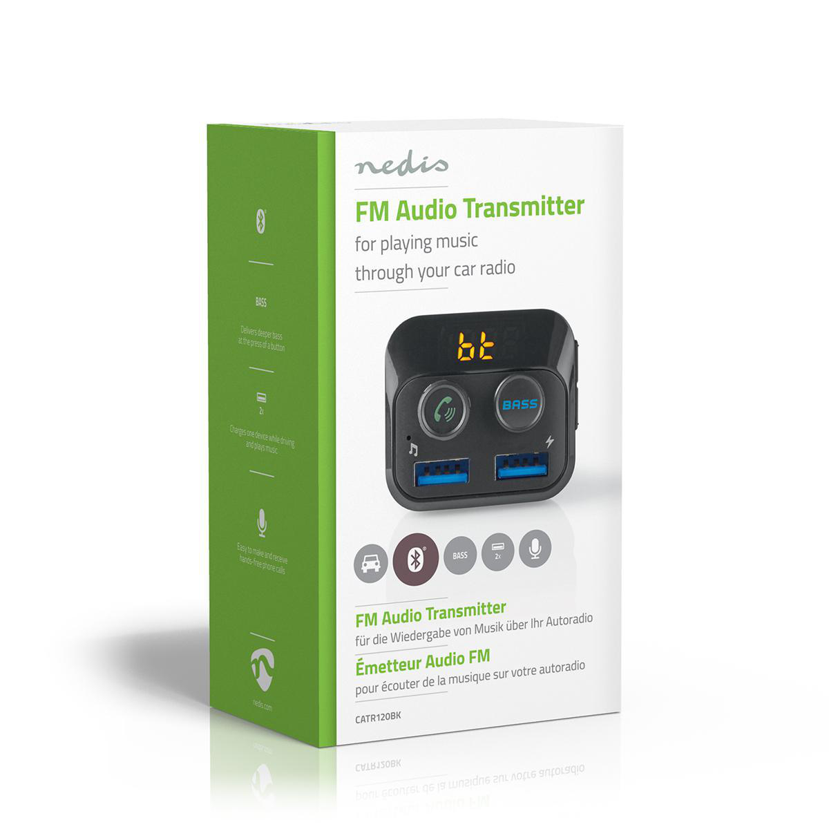 HZ Bluetooth Handsfree Bil Smartphones, tablets and PC