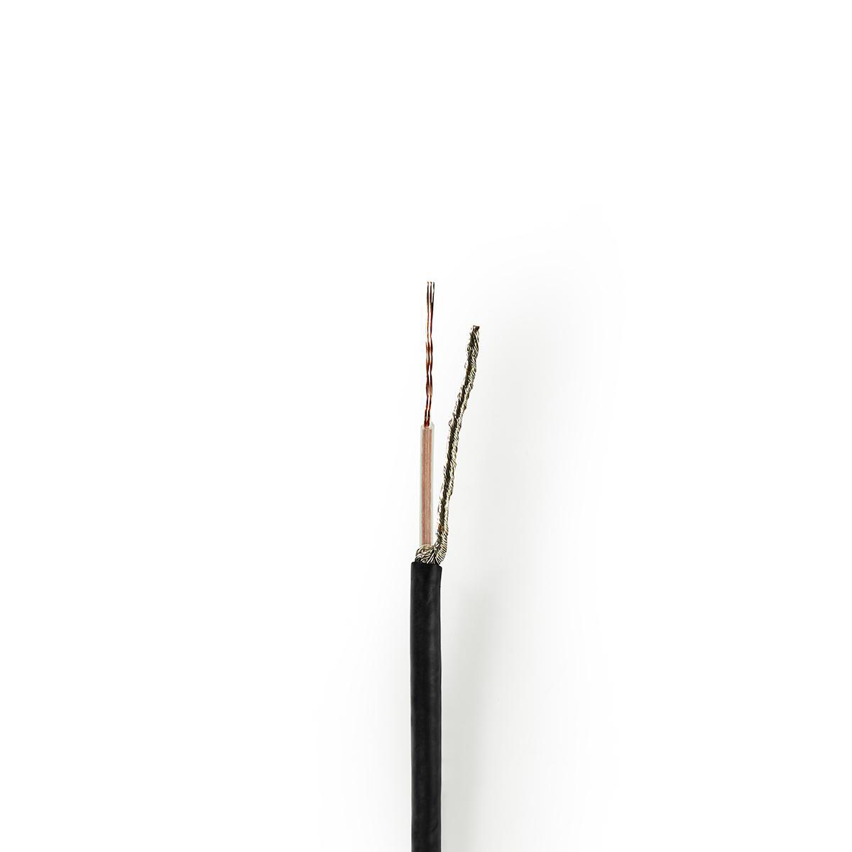 Noir Rallonge Bobine C/âble de T/él/éphone