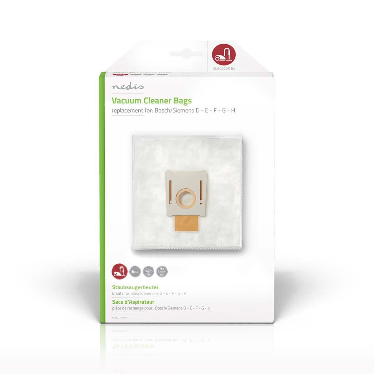 Støvsugerpose | Egnet for BoschSiemens D E F G H
