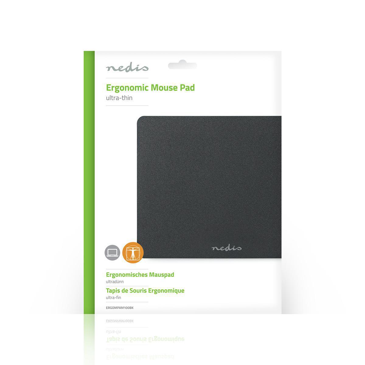 Ultra Thin Mousepad-black