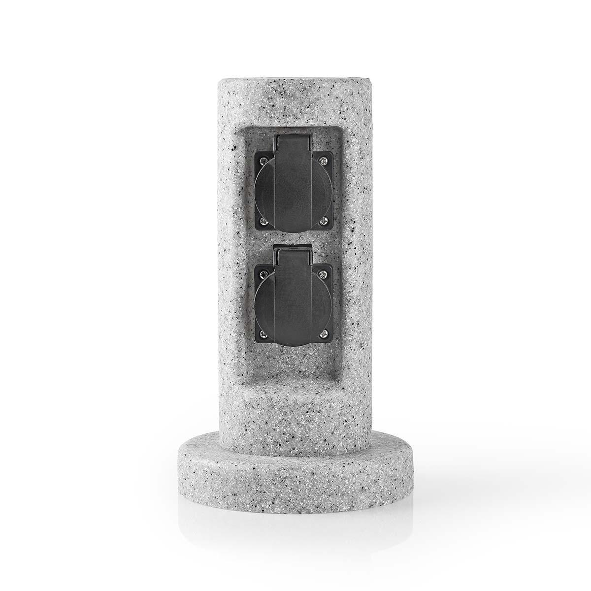 2 Sets Wandhalter Halterung für Steckdosen Leiste Strom Verteiler Steckerleiste