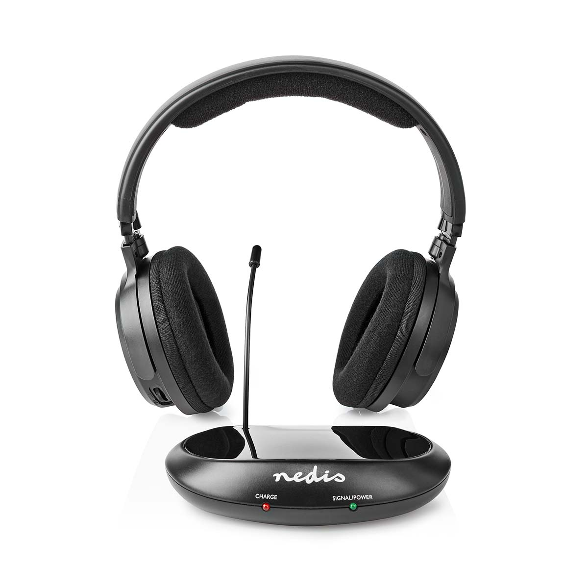 Wireless Tv Headphones Rf On Ear Battery Play Time Up To 11 Hours