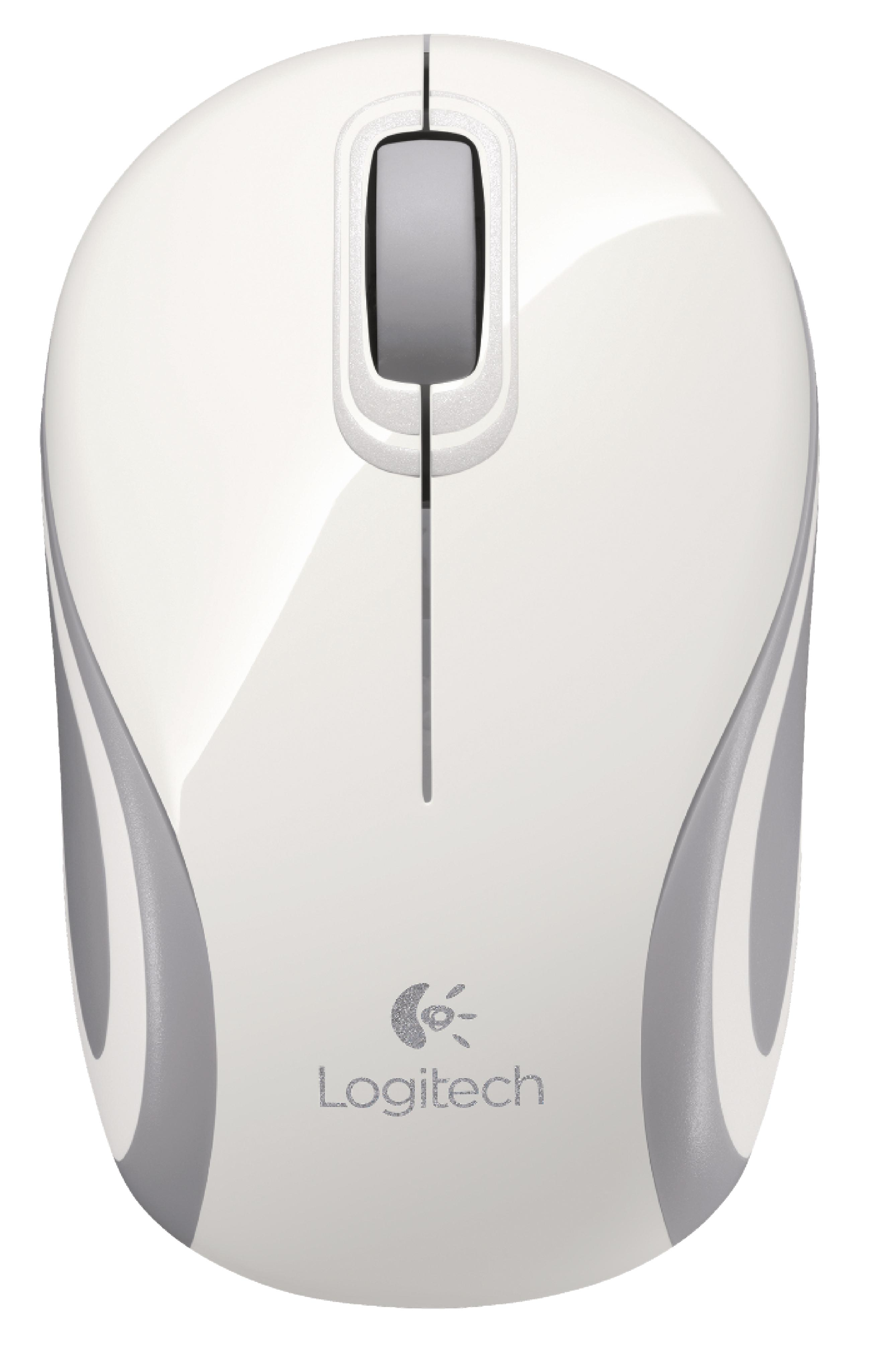 Wireless Mouse Travel 3 Button White | Nedis