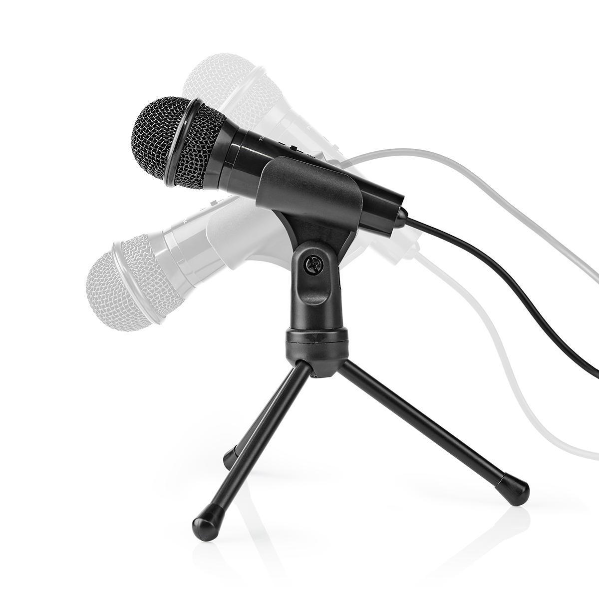 Mikrofon Stativ Bord | Nedis