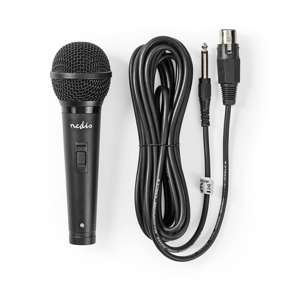 Nedis Mikrofon med Ledning | 72 dB + 3 dB Følsomhet | 80