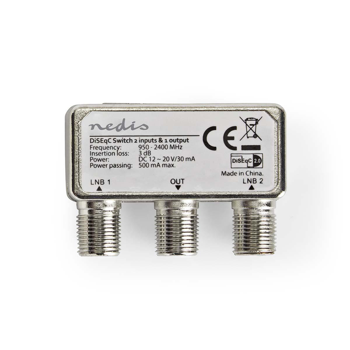Double DiSEqC 2.0 switch 2 in//1 out.