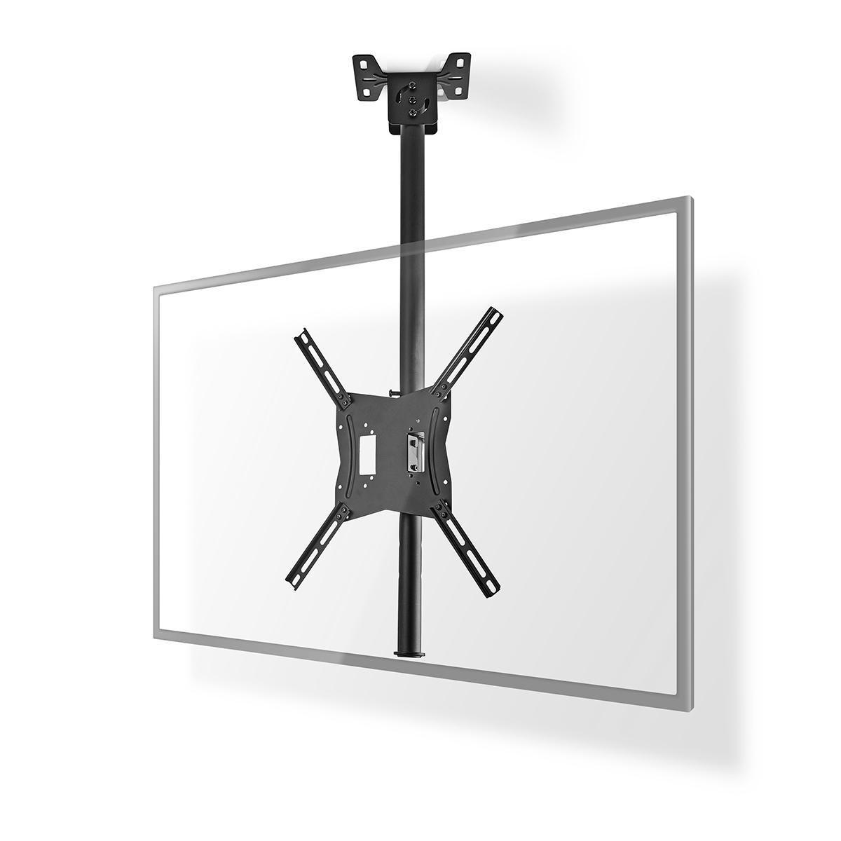 """Altezza Minima Soffitto supporto da soffitto tv omnidirezionale   26-42""""   max 20 kg"""