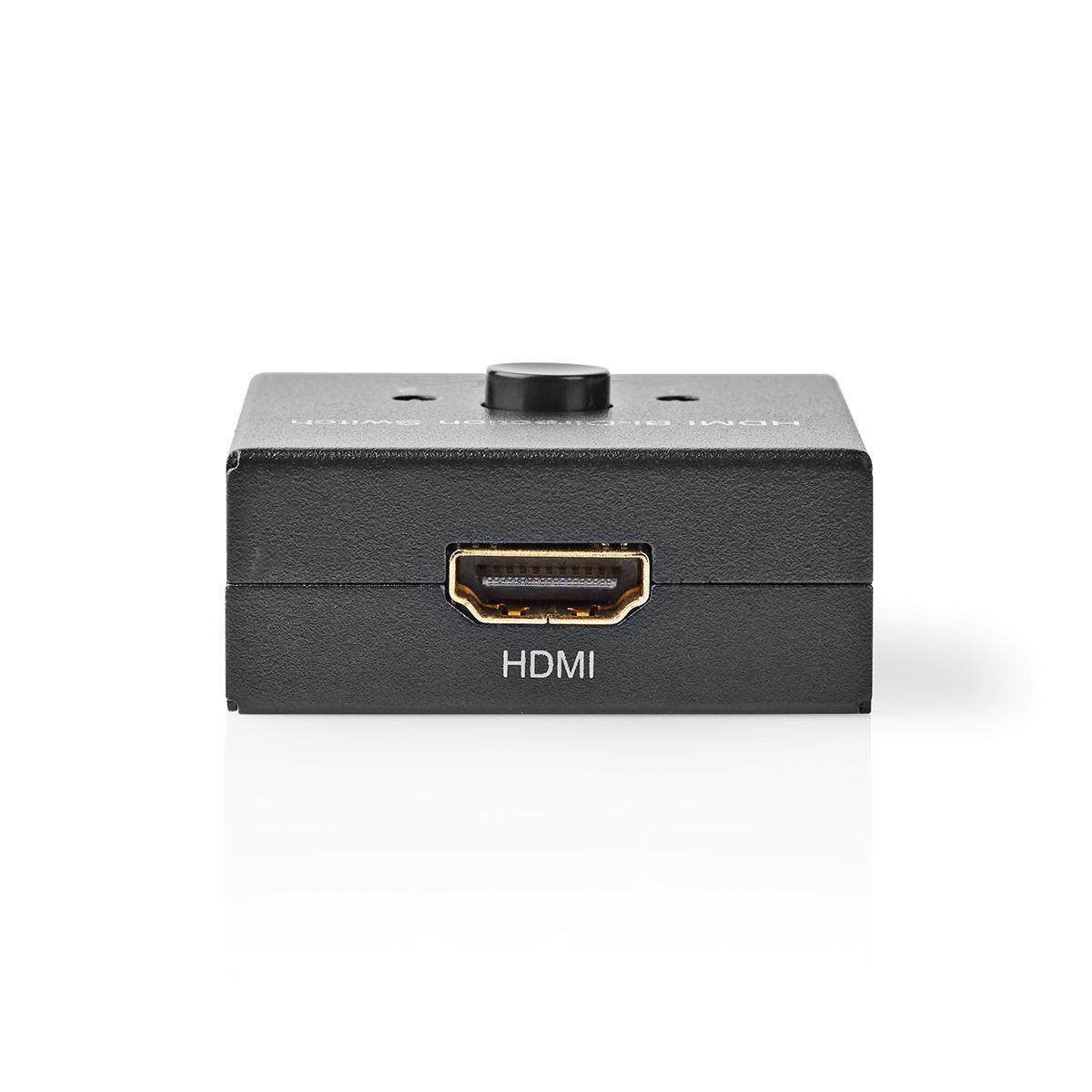 Hdmi Bi Directional Switch 2x Hdmi Output 1x Hdmi Input 2x Hdmi Input 1x Hdmi Output 4k2k 60fps Hdcp2 2 Nedis