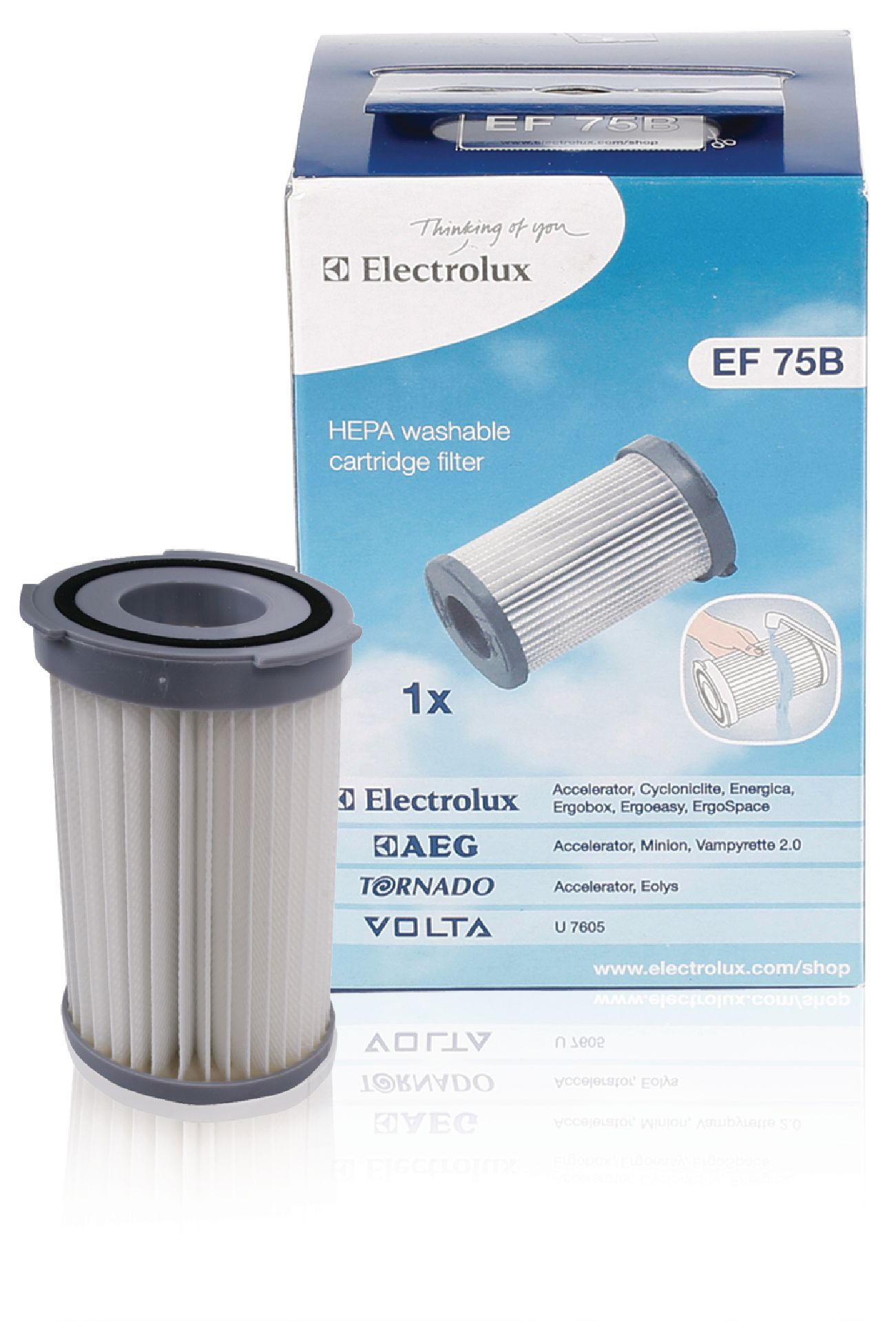 Cartridge filter EF75B   Nedis