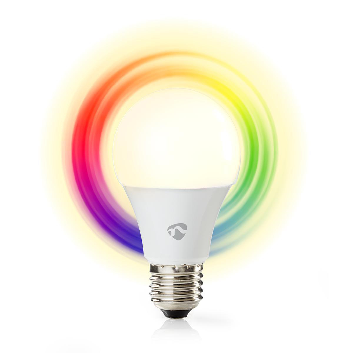 WLAN Smart LED Lampe | Vollfarbig und warmweiß | E27 | Nedis
