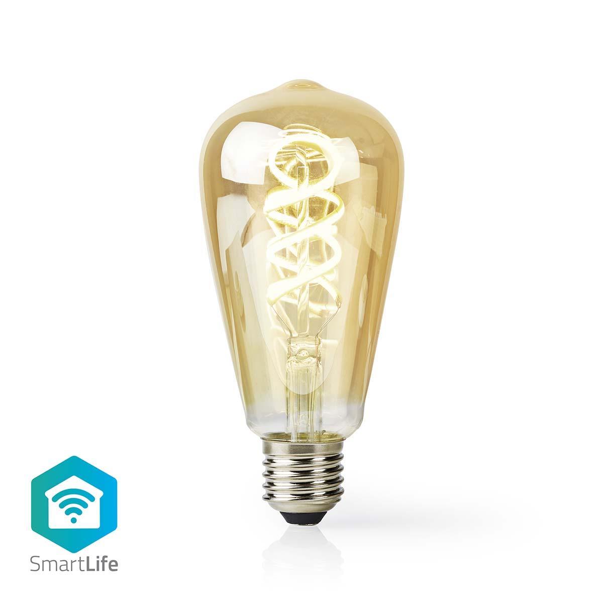 LED lampa med Wi Fi och varmvitt till kallvitt sken | Vriden